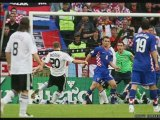 euro 2008 - croatie 2 - 1 allemagne