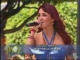 Dulce Maria chantant No pares emission Hoy 12/06/08