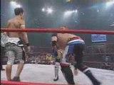 Masato Yoshino & Naruki Doi VS Chris Sabin & Alex Shelley