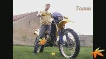 Moto à Izeure Yoann