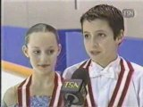Tessa Virtue & Scott Moir - 2001 can jr nats -prenovicedance