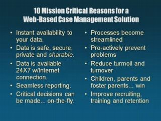 Child Welfare and Juvenile Justice Tracking Software