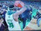 NBA FINALS08 Les Celtics champions ecrasent les Lakers.