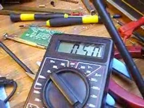 Masse 466gr pour 0.36 Watts