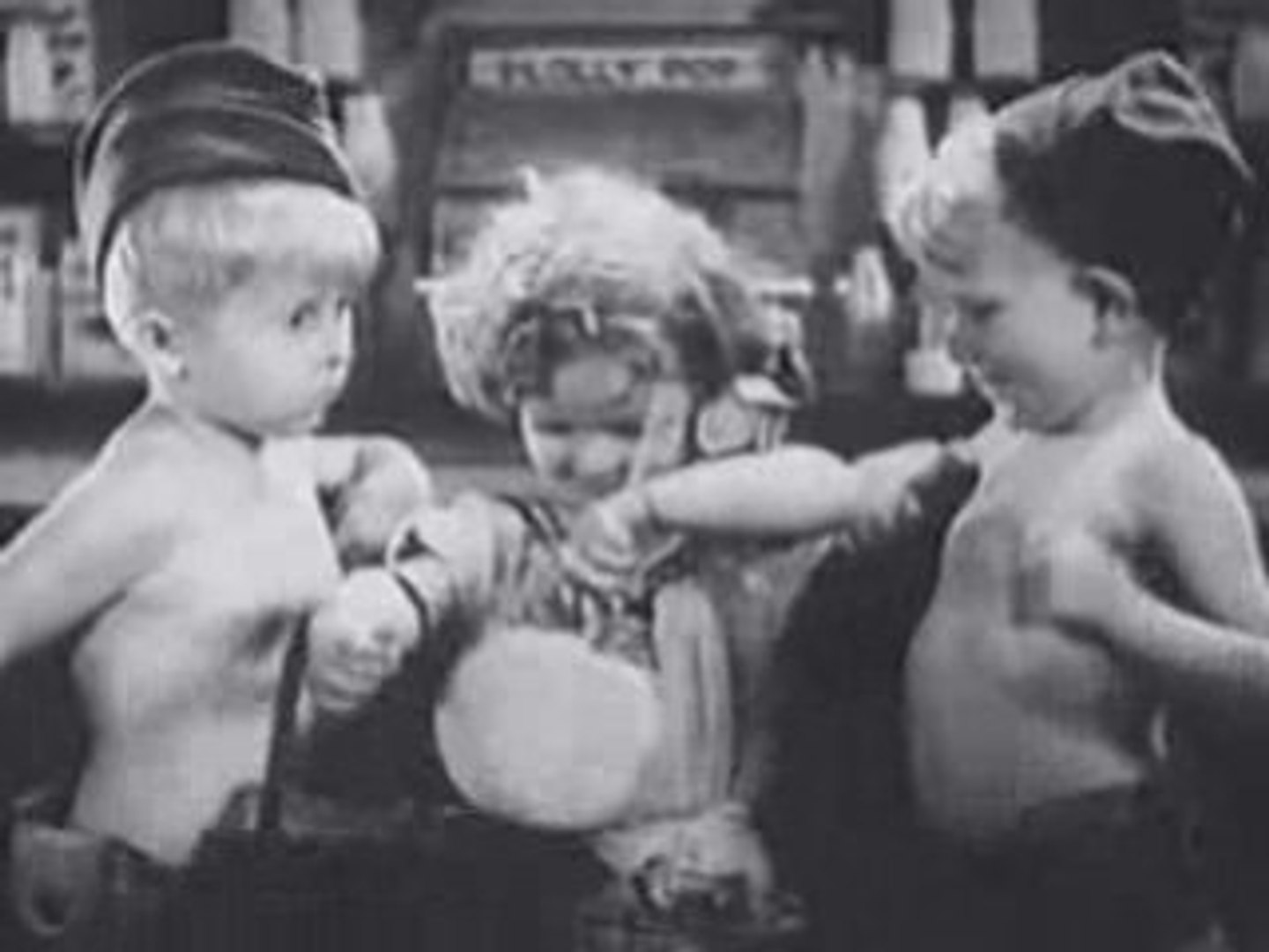 Famous Child Actors: Shirley Temple in War Babies (WACKY)