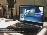LesNumeriques : Piloter son portable Toshiba à la main