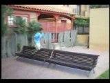 Alex & cristian trailer street stunt