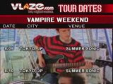 Vampire Weekend Aug Tour Dates