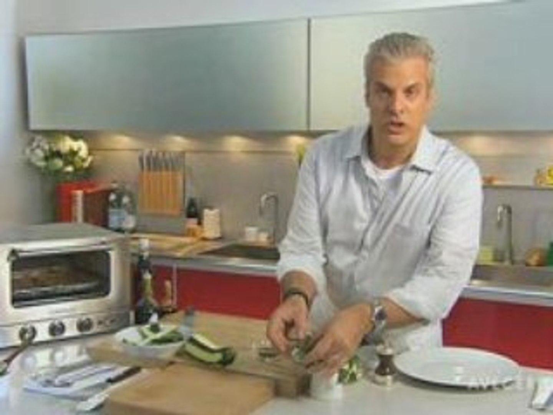 AVEC ERIC: Parmesan Zucchini with Balsamic