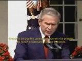 Le lapsus révélateur de Bush sur le 11 septembre