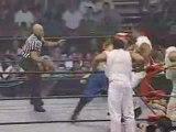 AJ Styles, Jerry Lynn & Low-Ki vs. The Flying Elvises