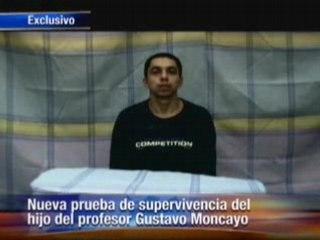 La preuve de vie de Pablo Moncayo