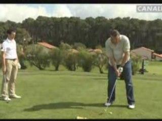 La leçon de golf par Grégory Bourdy
