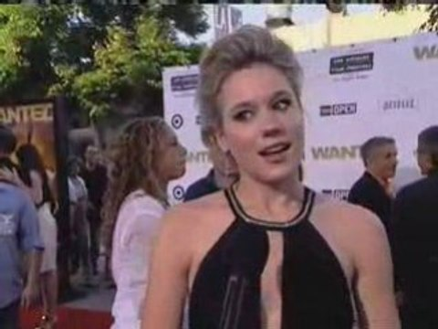 Kristen Hager - Wanted - Wanted Movie Red Carpet