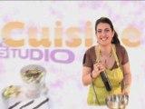 Recette : entrée aux courgettes par Cuisine Studio