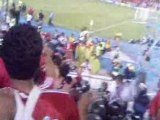 Fete aprés matche au stade