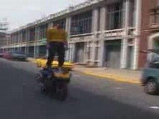 Motorcycles –  fuckin' crazy motorcycle stunts