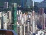 Hippodrome de Hong Kong vu de très haut...