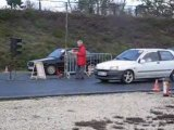 run 200 mètre clio diesel vs polo g40