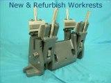 Carbide Tipped Work Rest Blades by Centerless Blade Mfg Co