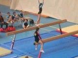gymnastique poutre