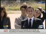 Betancourt en France : Premier discours