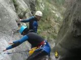 CANYONING GOURG DES ANELLES PYRENEES ORIENTALES