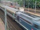Train Corail Intercités à destination d'Abbeville.