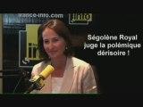 """Ségolène Royal déplore la polémique """"dérisoire"""" suscitée par ses propos sur la libération d'Ingrid Betancourt"""