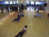 Breakdance, locking and popping classes worldwide