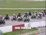 depart foireux en moto