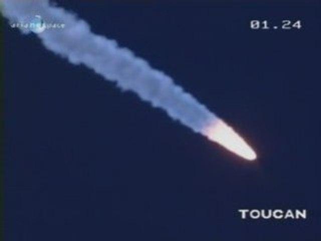 Lancement d'Ariane 5 - 7 juillet 2008