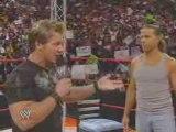 Raw 7.7.08 Shawn Michaels Adreeses Chris Jericho