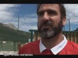 Les Lyonnais et Cantona a Tigne