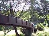 saut du pont des berges de l'indre