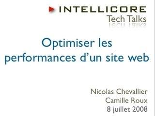 Optimiser les performances d'un site web