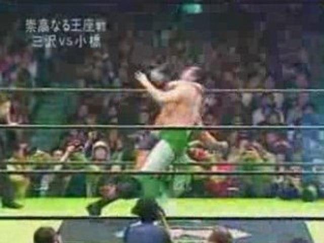 Mitsuharu Misawa vs. Kenta Kobashi, NOAH, 2003, Part 3.