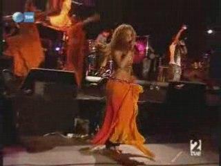 Shakira Hips don't Lie rock in rio Madrid 2008