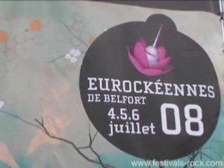 Eurockéennes de Belfort 2008