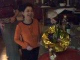 chez Marie Dessert de Paques avec les neveux 2005