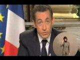 Inédit : Tecktonik les voeux de Sarkozy !!!