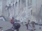 Avignon : le Palais des Papes avec câbles !