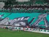 Asse - Chateauroux 0304 Tifo Sur 4 Tribunes Magic Fans 91 Gr