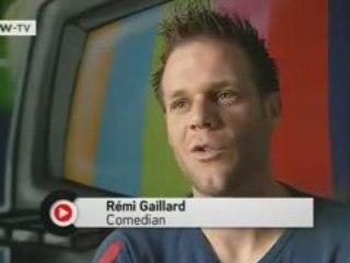 REMI GAILLARD (DW TV - ENGLAND) - 12/07/2008