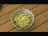 Courgettes au basilic et parmesan