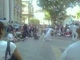 Avignon: spectacle de rue