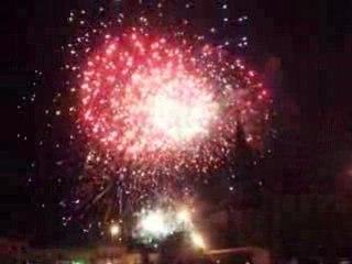 Le creusot 14 juillet feux d'artifices
