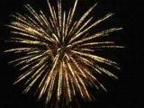 Les feux d'artifices de saulieu 2008