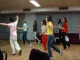La fiesta apprend des danses portugais