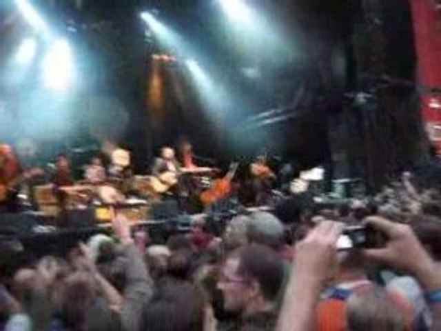 Dionysos Live Les aredentes Liège 2008 Song for a jedi